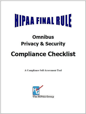 HIPAA Final-Rule Compliance Checklist