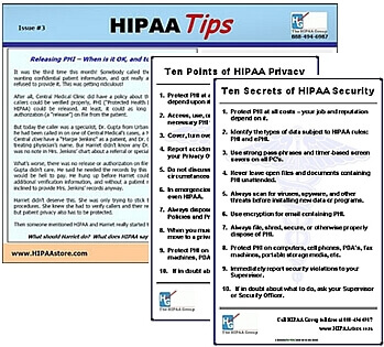 HIPAA Awareness Kit