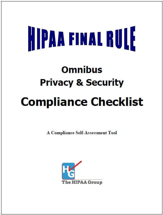 HIPAA Final-Rule Compliance Checklist - Click Image to Close